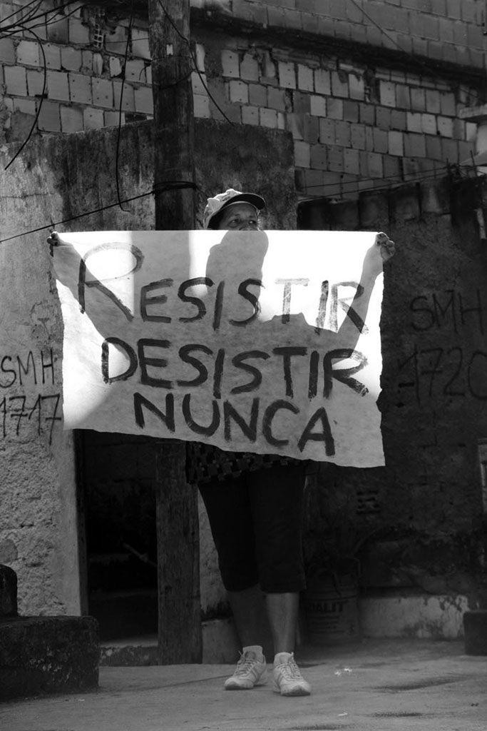 Ciranda da Resistencia, evento referente as remoçoes no morro da Providencia