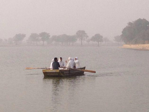 INDIA lago artificial Gadisagar